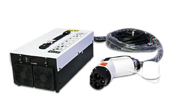 7Kw便携式直流充电机