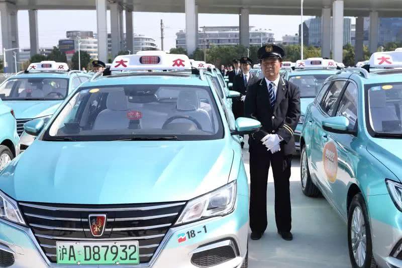 上海市已有1877辆新能源出租汽车投用